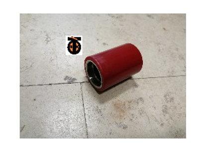 Ролик (полиуретан)  для рохли 50х70 мм без подшипника