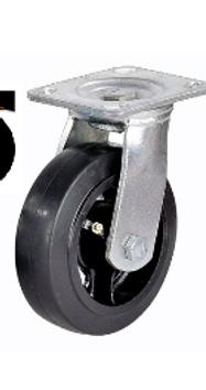 Колесо большегрузное обрезиненное поворотное D 125   SCD 55