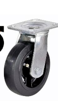 Колесо большегрузное обрезиненное поворотное D 150   SCD 63
