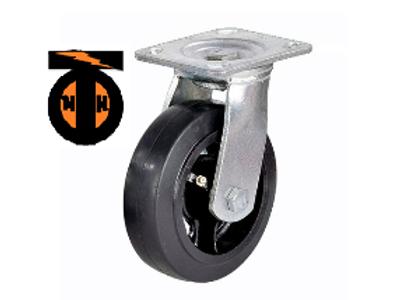 Колесо большегрузное обрезиненное поворотное D 200   SCD 80