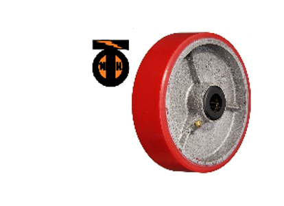 Колесо б/г полиуретановое без кронштейна 200   P80