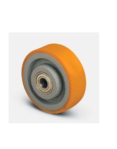 Колесо для рохли опорное ( VBP 180*50*20 ), чугун-полиуретан.