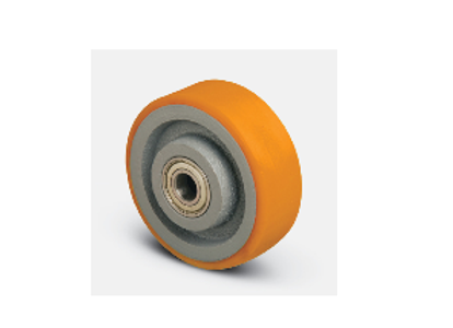 Колесо для рохли опорное ( VBP 200*50*20 ), чугун-полиуретан.