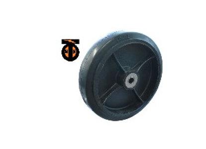 Колесо б/г обрезин. без кронштейна, 300мм( 20мм ) (D95)   W8012(20)