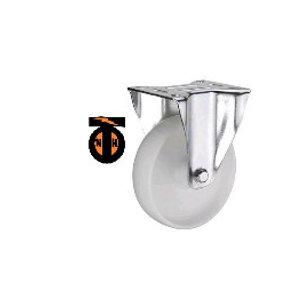 Колесо полиамидное( нейлоновое ) неповорот. 160 мм  1121160