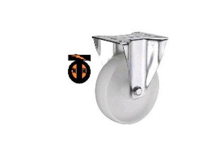 Колесо полиамидное( нейлоновое ) неповорот. 100 мм   1121100