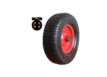 Колесо с симметричной металлической ступицей 16х6,50-8, 410мм, с подшипником 16м