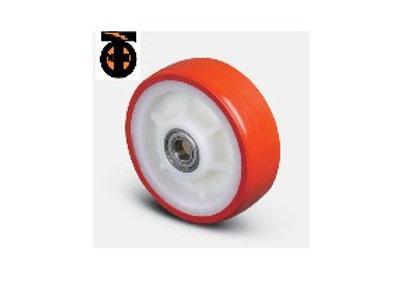 Колесо полиуретановое 125 мм ( ZBP 125 ED ), диск-полиамид