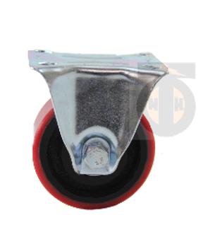 Колесо б/г полиуретан. неповорот. 125 мм ( Medium )