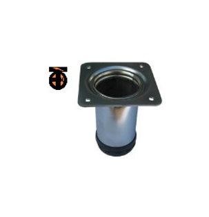 От 2 шт. Ножка меб.регулир. диаметр 50мм, Н-10см (хром)