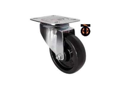 Термостойкое поворотное колесо (фенольное) EM01 BKB 100
