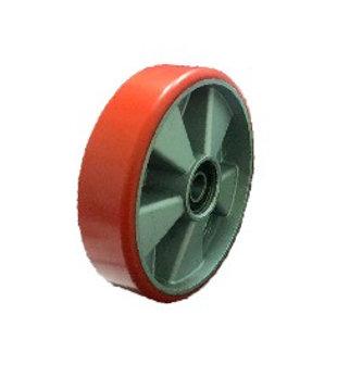 Колесо рулевое 180 (полиуретан-алюминий)