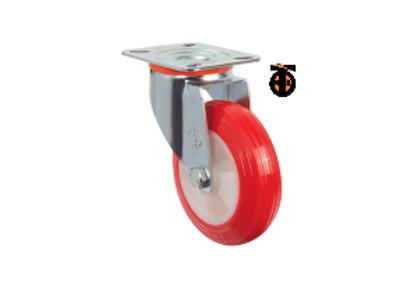 Поворотное полиуретановое колесо EM01 ZKP 125