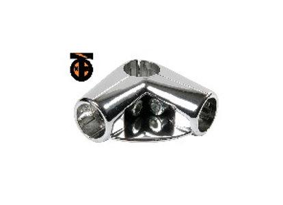 Крепеж угловой с 4-мя направлениями с 1-м полкодержателем (Uno4)