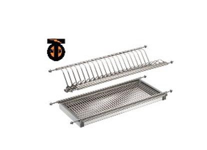 Сушка для посуды, база 400мм, нержавеющая сталь, 365х280х65мм