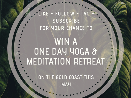 Win a one day yoga and meditation retreat on the Gold Coast