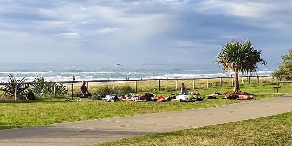 Beachside Yoga: Thorn Park Miami Beach