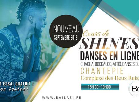 NEW !! Cours de shines (danse en ligne) à partir du 19 septembre !