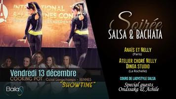 13 décembre : soirée salsa & bachata - spéciale shows