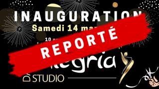 Inauguration du studio Alegria : dates à venir...
