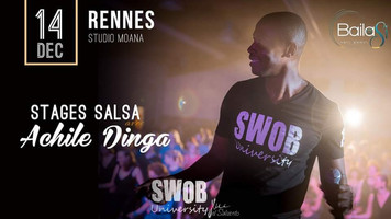 14 décembre : stages salsa avec Achile !