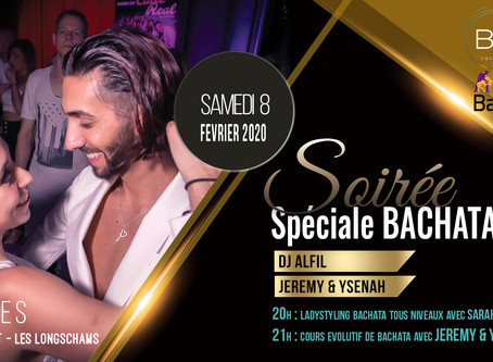 8 février : Soirée spéciale Bachata & salsa by Bailasi & Objectif Bachata !