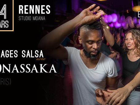 14 Mars : Stages salsa avec Onassaka !