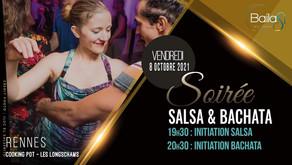 8 octobre : soirée salsa/bachata !