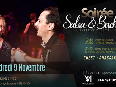 9 novembre : soirée Salsa & Bachata