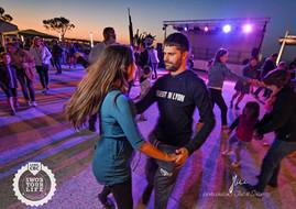 Moules party et danse au coucher du soleil