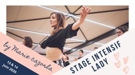 13 & 14 juin : stage intensif ladystyling par Marie Cazorla / Nîmes
