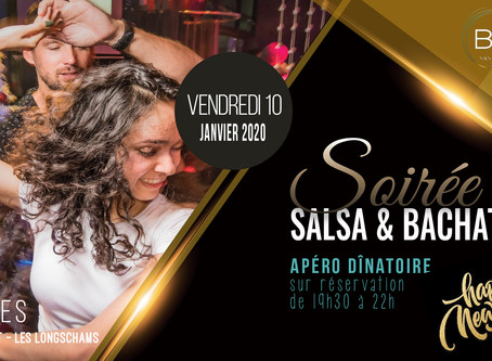 10 janvier : Soirée Salsa & Bachata by Bailasi ! Happy New Year !