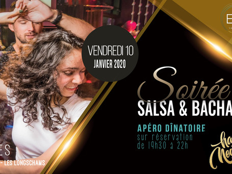 10 janvier : Soirée Salsa & Bachata by Bailasi ! Happy New Year !