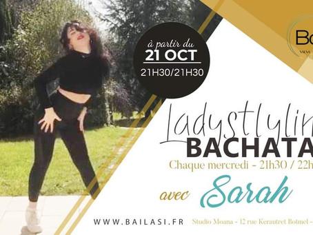 NEW ! Ladystyling bachata chaque mercredi ! À partir du 21 octobre