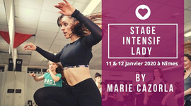 11 & 12 janvier 2020 : Stage Lady Styling/ Bootcamp/ Marie Cazorla
