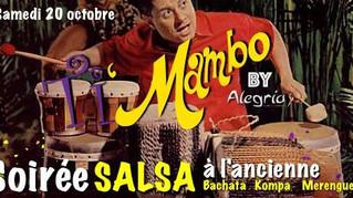 20 octobre : Soirée Ti Mambo à l'ancienne !
