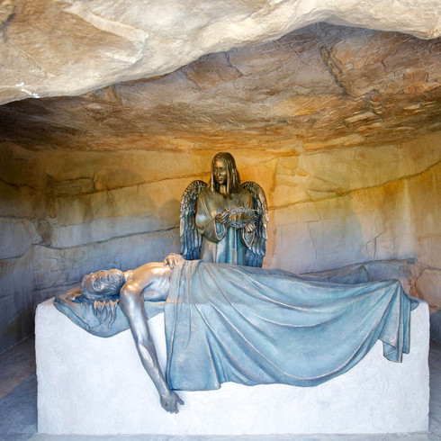 Jesus is Placed in the Sepulcher