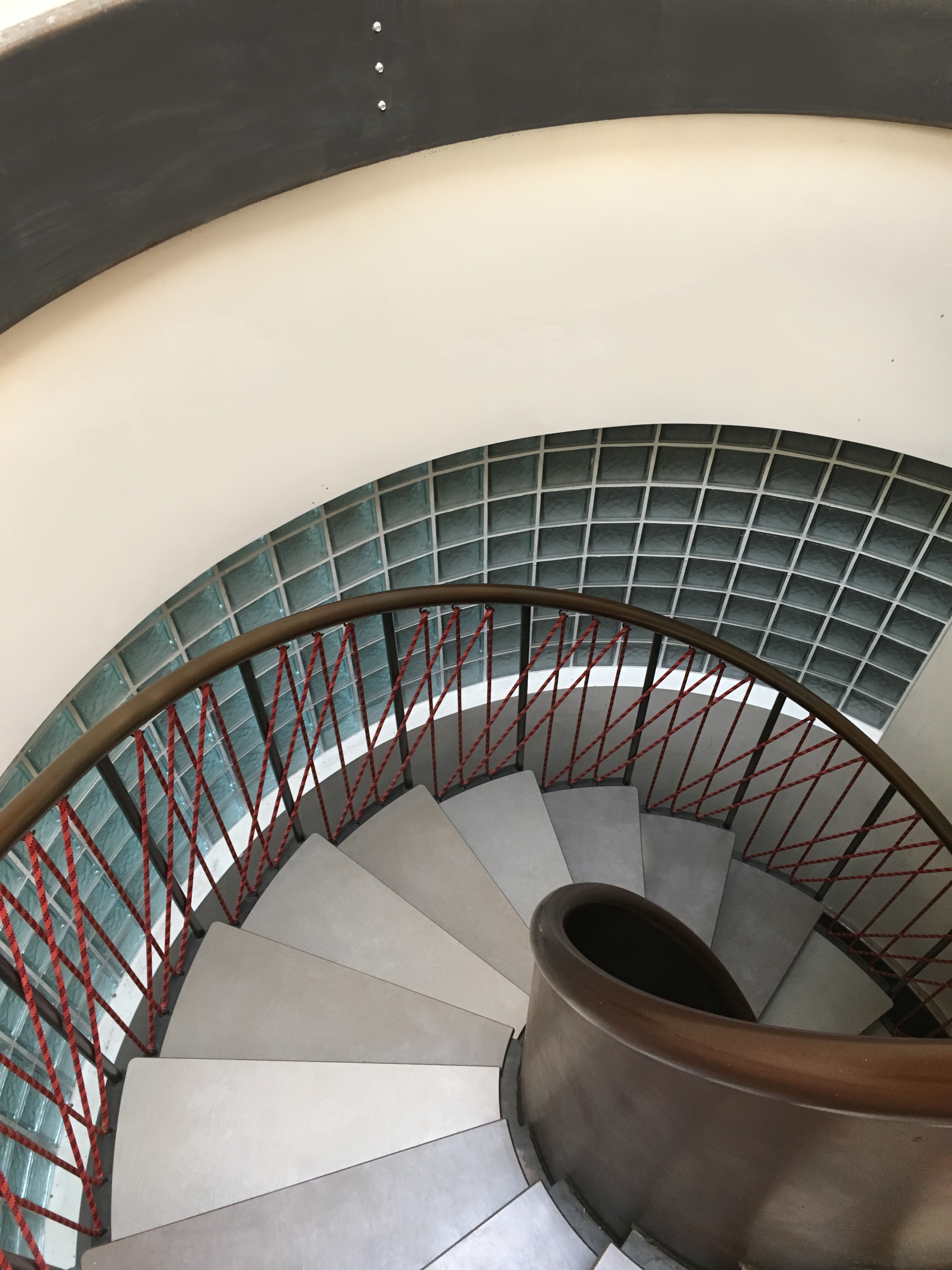 Spiral Stair - downward view