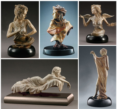 Smaller bronze sculpture collection - a place to start for new collectors