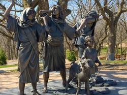 Bronze grouping: Women of Jerusalem