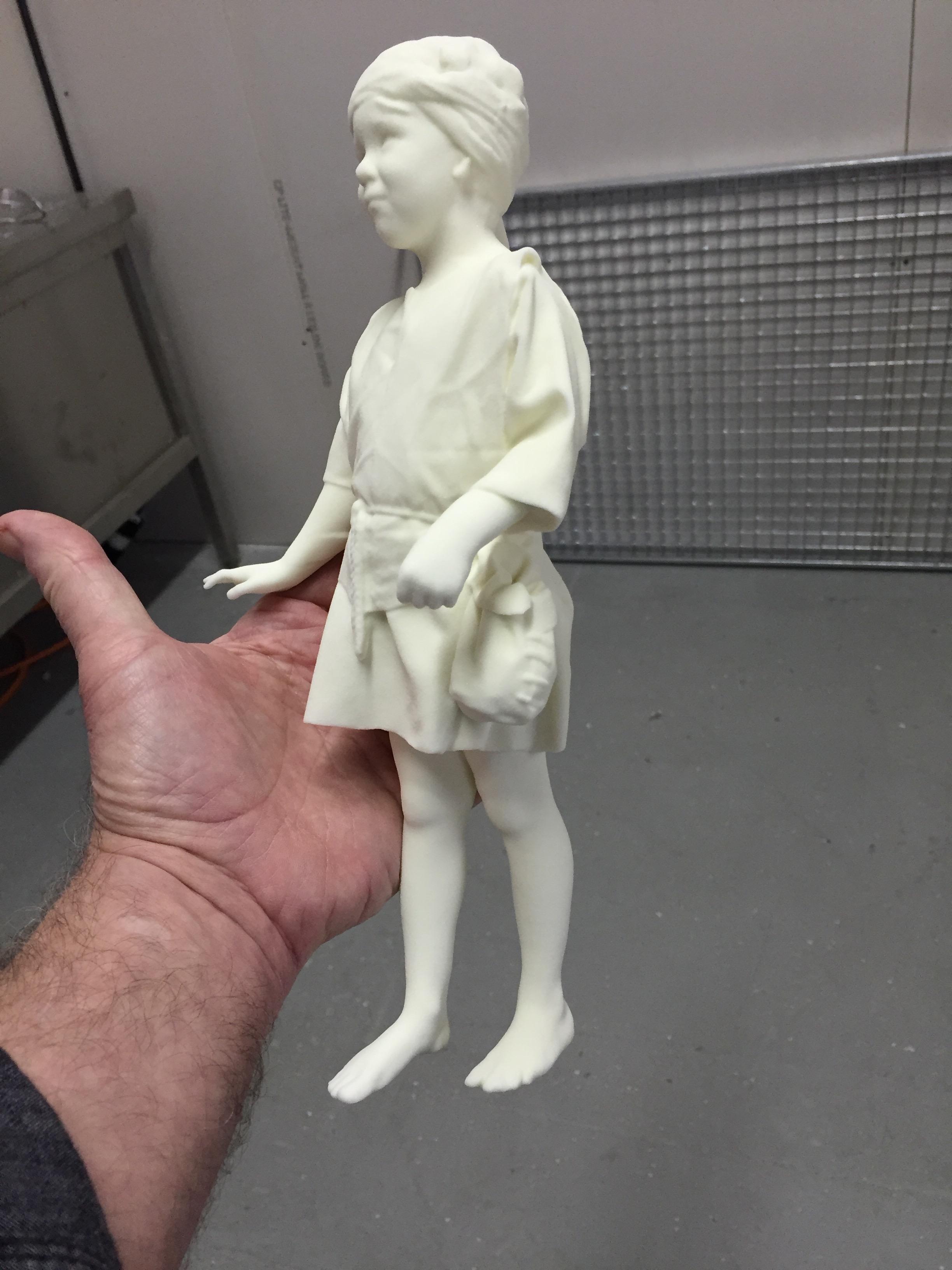 Digital prints of models