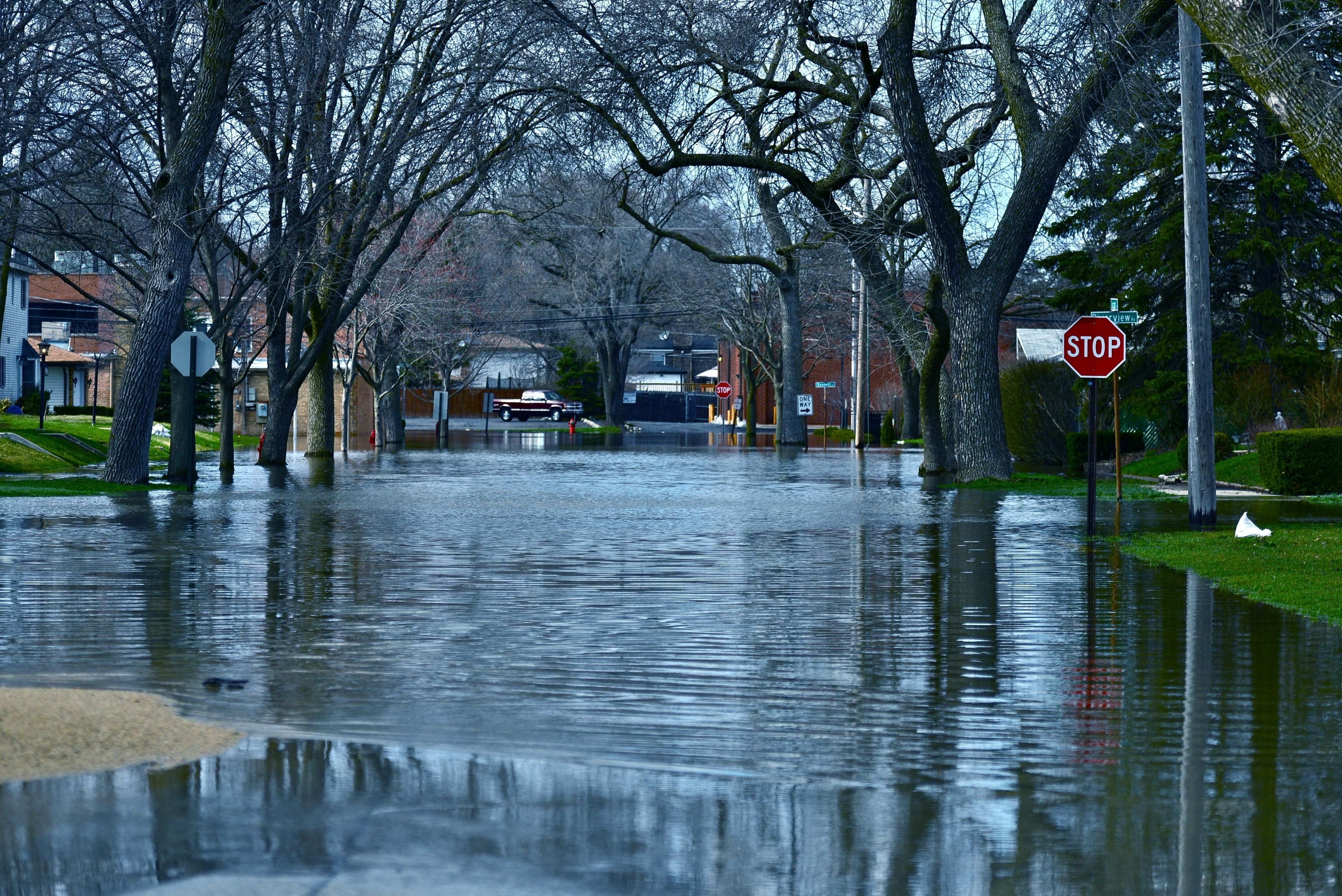 Deep Flood Water