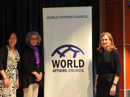 Lake & Park Teacher Receives World Educator Award - World Educator Speech 05/02/17