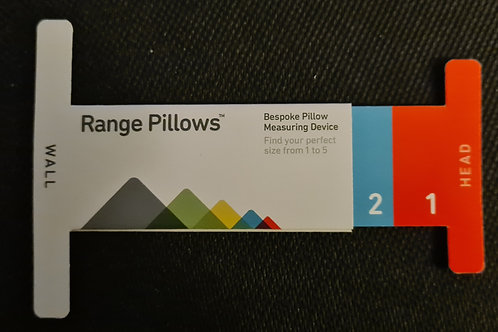 Home Pillow Size Measuring device