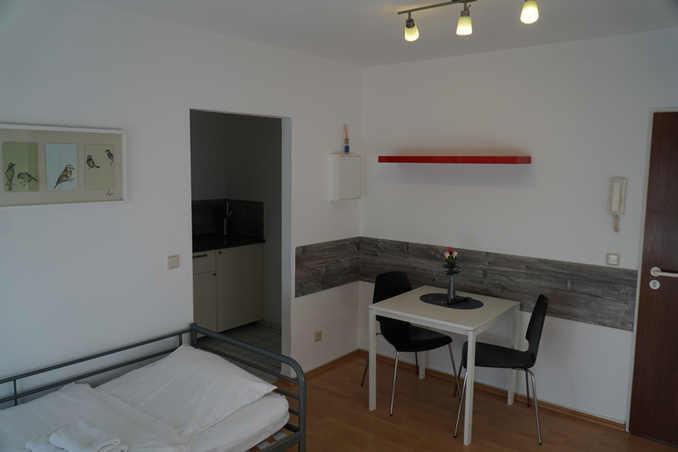 Wohnbereich Ferienwohnung Pension Zufriedenheit Dortmund