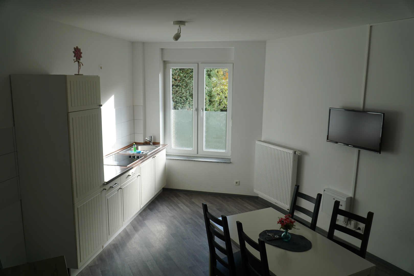 Küche Ferienwohnung Pension Falke Dortmund
