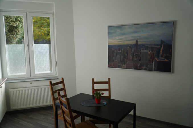 Küchenbereich Ferienwohnung Pension Falke Dortmund