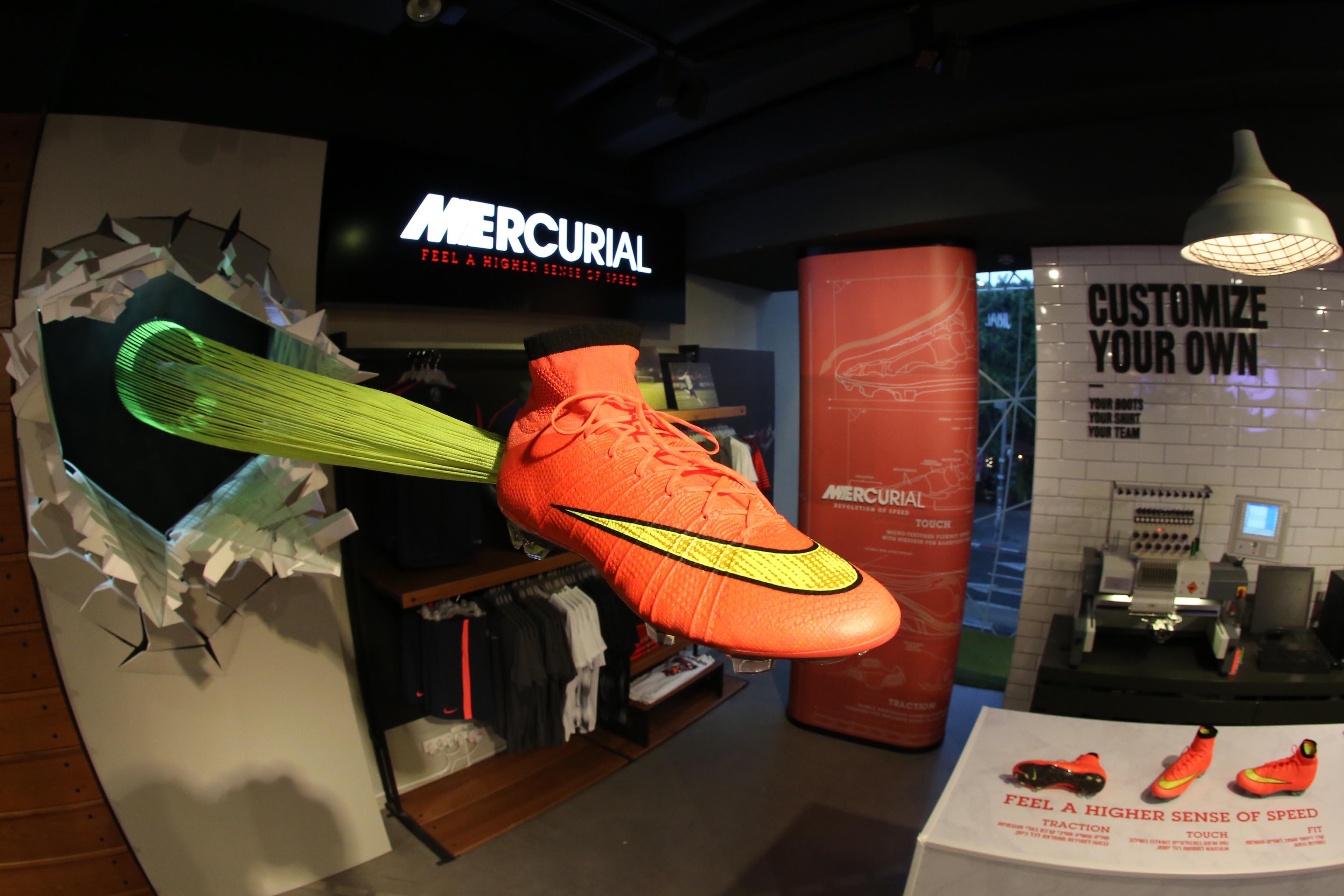Nike Mercurial Launch