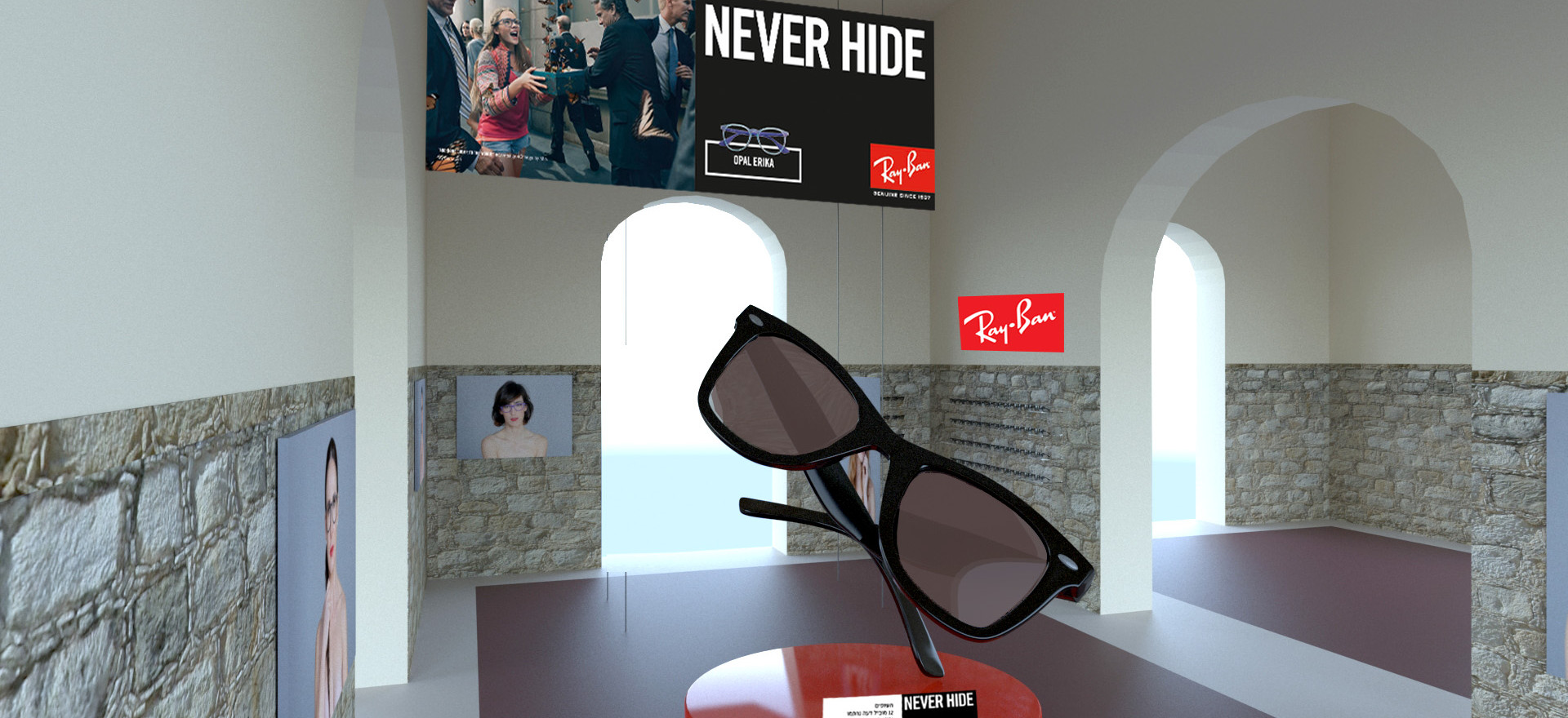 Ray Ban Donation Event