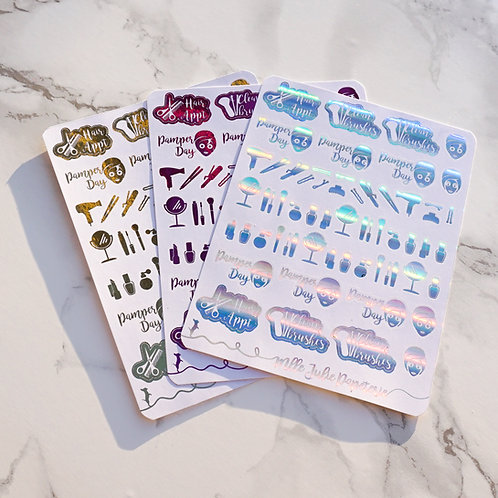 Stickers - Beauty foil